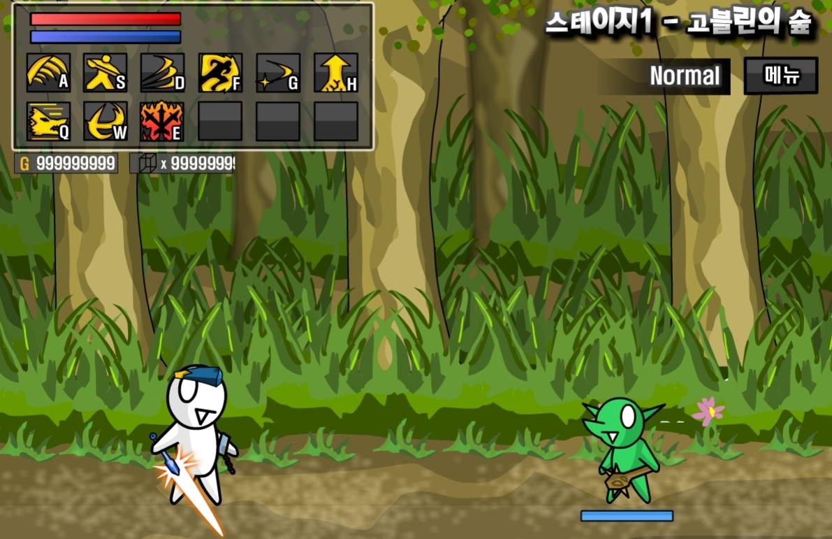 [플레시게임] 레바의 모험 3.0 버그판 게임하기